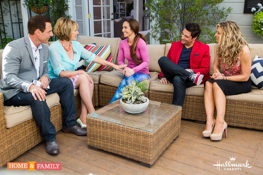 Home and Family Natalie Jill appearance