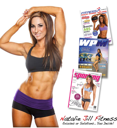 Natalie Jill fitness covers