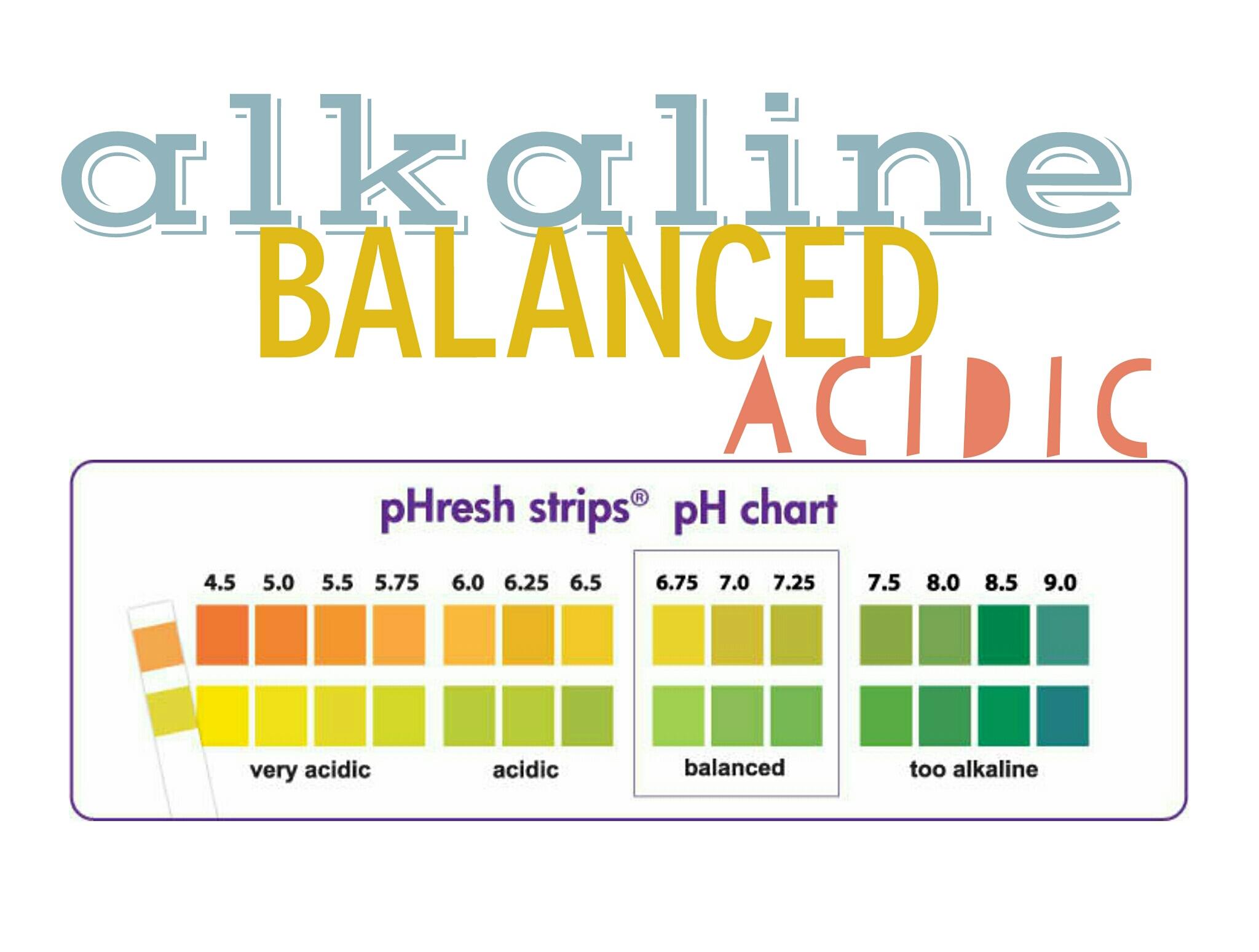 alkaline acidic natalie jill