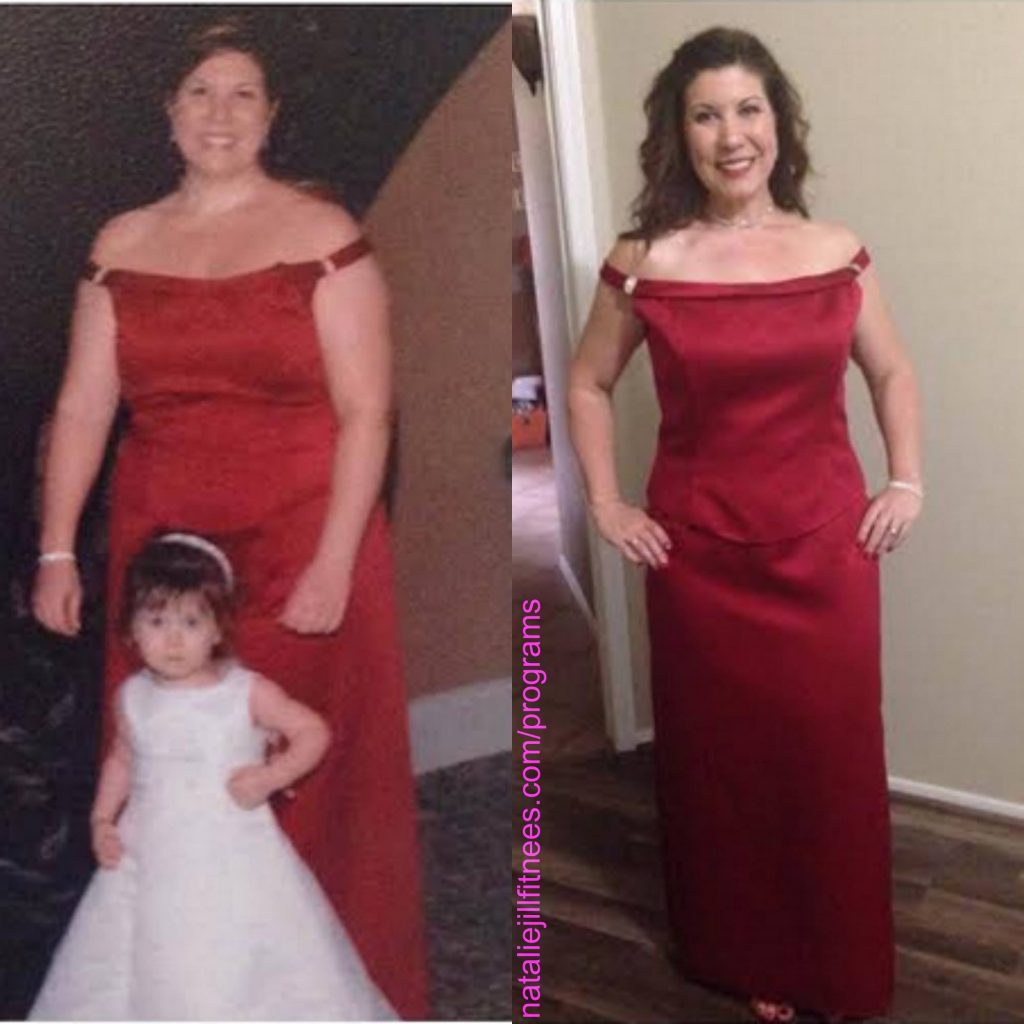 mom loses weight elizabeth transformation with natalie jill