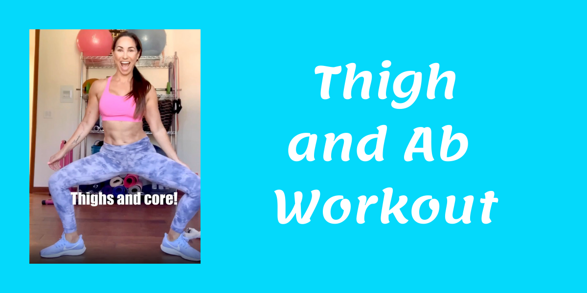 Thigh and Ab Workout blog thumbnail